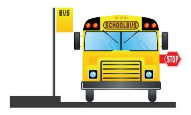 "This is the image for the news article titled ""Fresh Express Buses"" School Bus Meal Distribution Program"